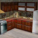 Кухня горизонталдьные ящики