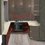 Кухня лежнево