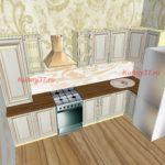 Кухня с вытяжкой